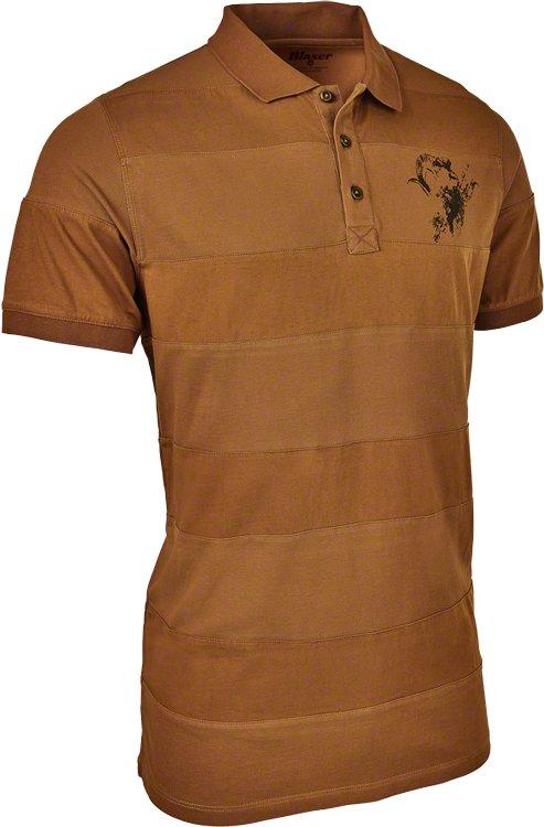 Тенниска поло Blaser Active Outfits Noah. Размер – M. Цвет – Burned Orange.