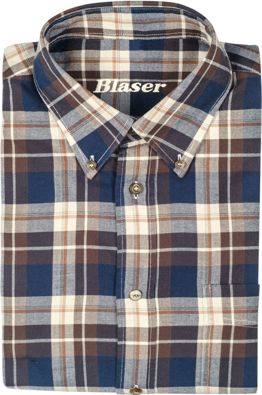 Рубашка Blaser Active Outfits Classic, Twill, beige S