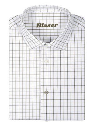 Рубашка Blaser Active Outfits Oxford XL ц:оливковый