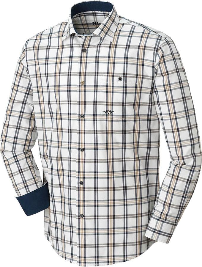Рубашка Blaser Active Outfits Oxford Modern fit. Размер – L. Цвет: бежевый
