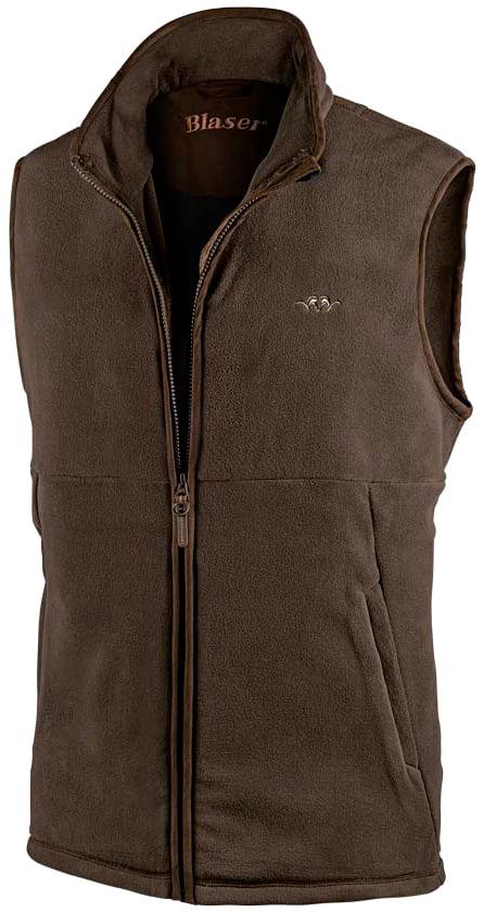 Жилет Blaser Active Outfits Basic Fleece. Размер – L. Цвет – коричневый