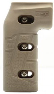 Рукоятка пистолетная MDT Adjustable Vertical Pistol Grip. Цвет – песочный