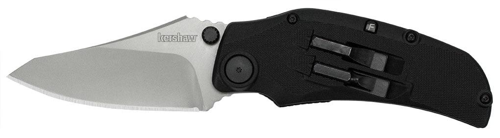 Нож Kershaw Payload, сталь – 8Cr13MoV, рукоятка – GFN, клипса, длина клинка – 84 мм, длина общая – 191 мм, 5 бит