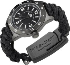 Браслет выживальщика Outdoor Edge ParaClaw  CQD Watch Medium Alu, сталь – 8Cr13MoV, паракорд, длина клинка – 38 мм