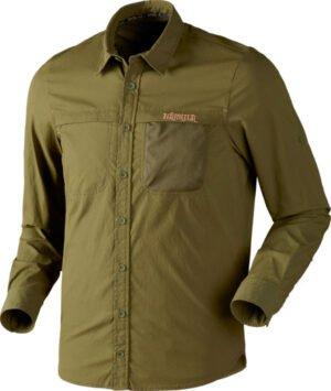Рубашка Harkila Herlet Tech S ц:зеленый