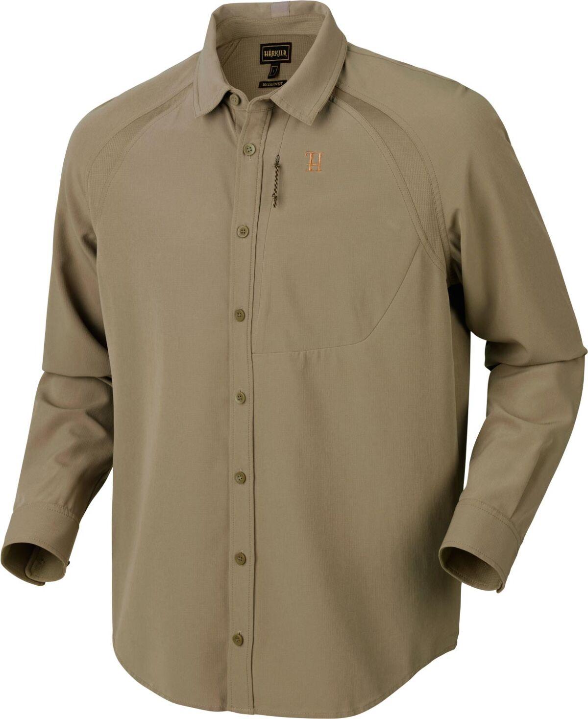 Рубашка Harkila Herlet Tech. Размер – S. Цвет – светлый хаки