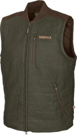 Жилет Harkila Metso Active.- зелёный/коричневый