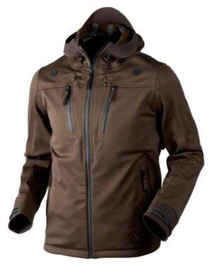 Куртка Seeland Hawker Shell Размер – 60. Цвет – темно-зеленый