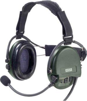 Наушники активные MSA Supreme Mil CC Green Nexus (с задним держателем)