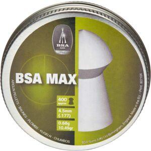 Пули пневматические BSA Max. Кал. – 4.5 мм. Вес – 0.68 г. 400 шт/уп