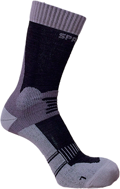 Носки Spring Revolution Trekking Moderate 645. Размер – 43-46. Цвет – серый