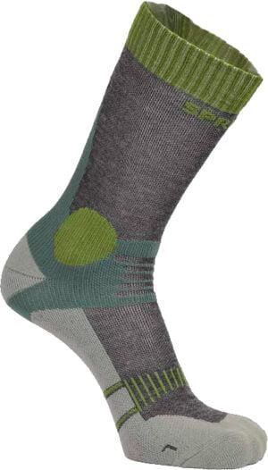 Носки Spring Revolution Trekking Moderate 645. Размер – 43-46. Цвет – зеленый