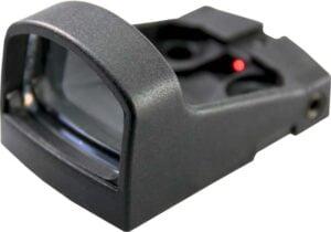 Прицел коллиматорный Shield SMS 1MOA + круг, пластиковый корпус, крышка, с батареей