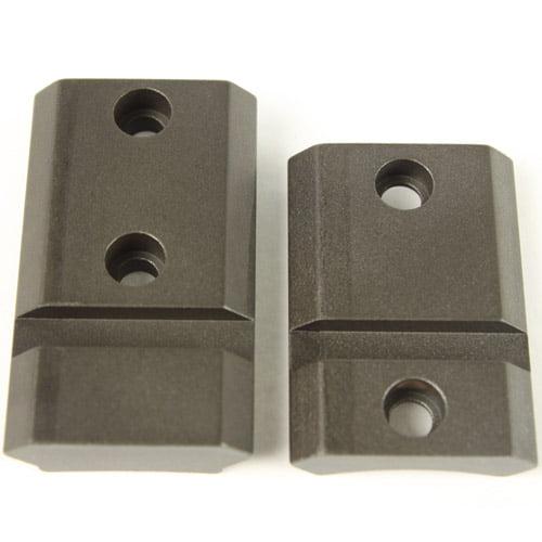 Планка раздельная Warne MAXIMA 2-Piece Steel Rail для Remington 700 LA/SA. Weaver