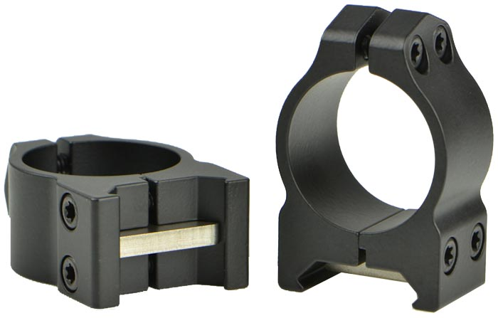 Кольцa Warne Maxima Fixed Rings. d – 25.4 мм. Low. Weaver/Picatinny