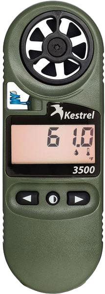 Метеостанция Kestrel 3500NV Weather Meter. Цвет – Олива