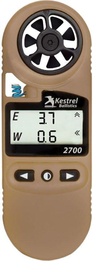 Метеостанция Kestrel 2700 Ballistics. Цвет – TAN (песочный)