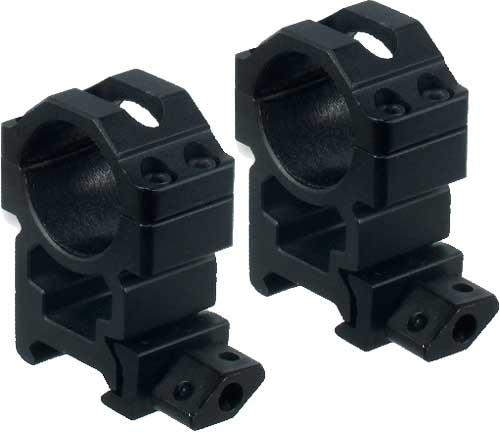Легкосъемные кольца Leapers UTG Max Strength. d – 25.4 мм. High. Weaver/Picatinny