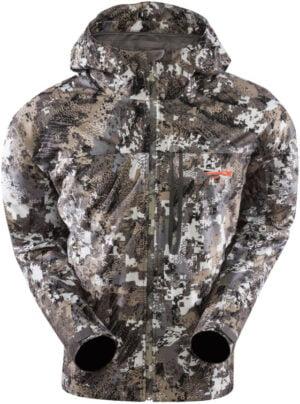 Куртка Sitka Gear Downpour. Размер – 3XL. Цвет: optifade elevated II