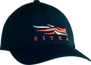 Кепка Sitka Gear One size. Цвет – черный