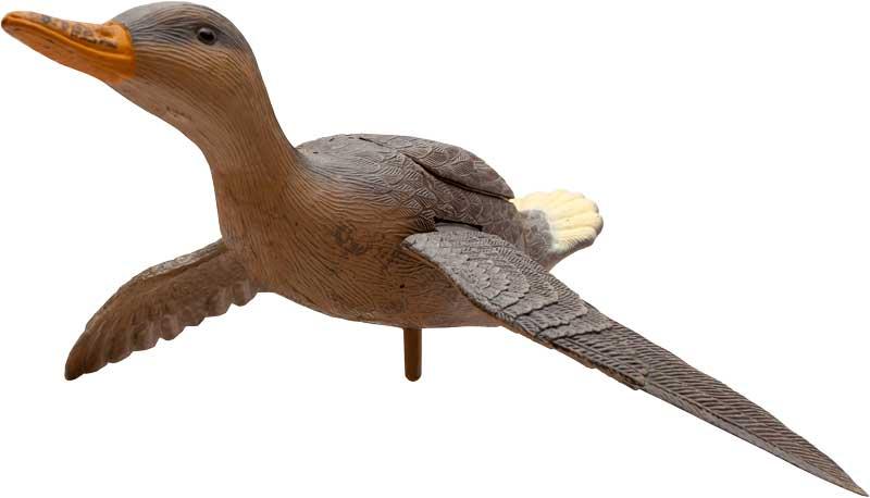 Подсадная летящая утка Birdland, имитация полета с хлопаньем крыльев