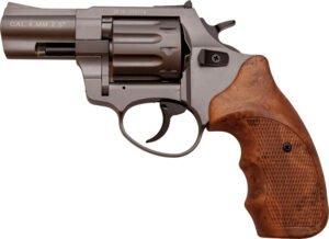 Револьвер флобера STALKER 2.5″ Титановое напыление. Материал рукояти – пластик