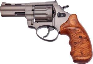 Револьвер флобера STALKER 3″ Титан. Материал рукояти – пластик